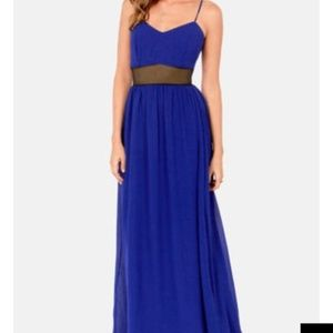 Lulu's Maxi with Mesh panel/back Small